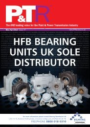 HFB BEARING UNITS UK SOLE DISTRIBUTOR - Ptreview