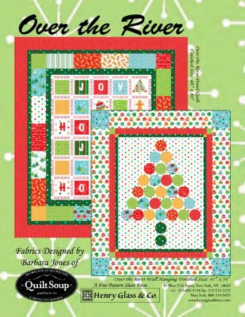 Over the River Free Quilt Pattern - Quilt Soup