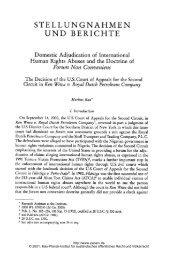 [-Domestic - Zeitschrift für ausländisches öffentliches Recht und ...