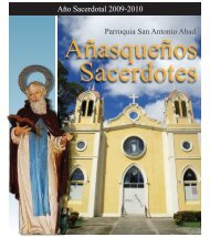 Parroquia San Antonio Abad Año Sacerdotal 2009-2010 - El Visitante