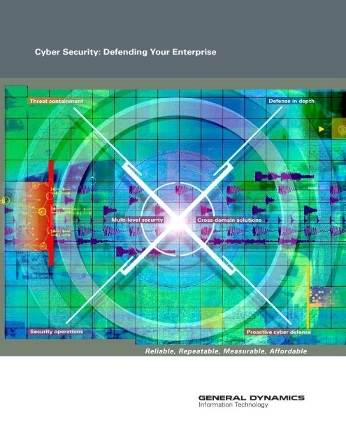 Cyber Security Brochure - General Dynamics Information