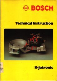 Bosch Technical Instruction-Jetronic