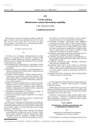 121 VYHLÁŠKA Ministerstva vnútra Slovenskej republiky z 26 ...