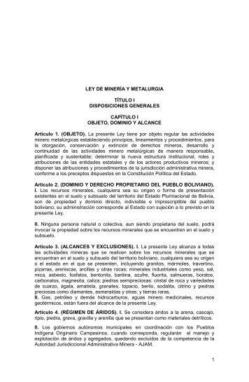 Ley-de-Mineria