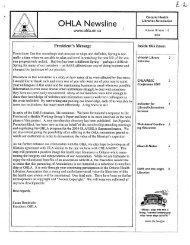 V18 1/2-3/4 2003 - Ontario Health Libraries Association