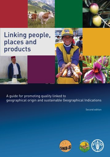 Linking people, places and products - FAO