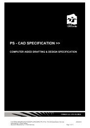 PS - CAD SPECIFICATION >> - Townsville City Council