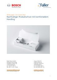 Nachhaltiger Produktschutz mit komfortablem Handling