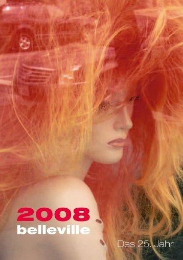 Vorschau 2008 - belleville Verlag Michael Farin