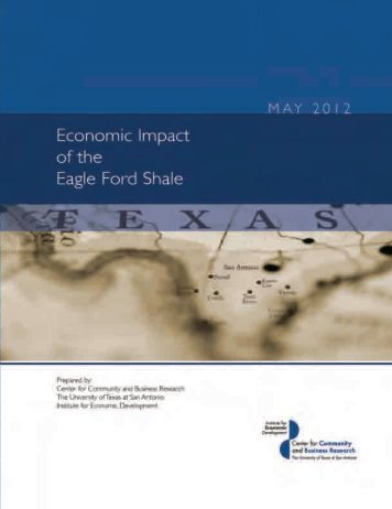 Eagle Ford Shale Report - Center for Community and Business ...