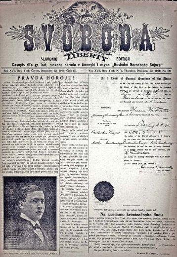 Svoboda slavonic edition 1909, No.50