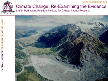 What is non-linear climate change? - Yale Center for the Study of ...