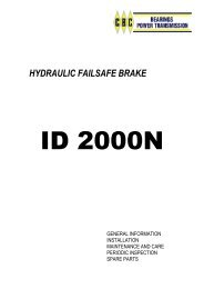 HYDRAULIC FAILSAFE BRAKE