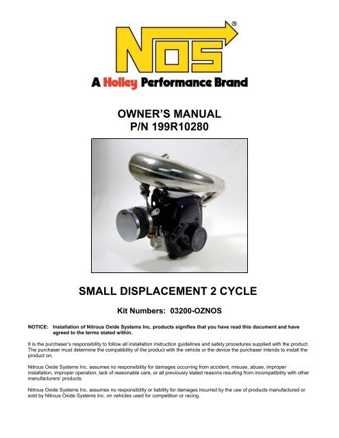 Small Displacement Kit - MPS Racing