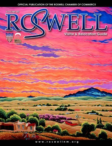 Relocation Guide - Roswell, New Mexico, Chamber of Commerce