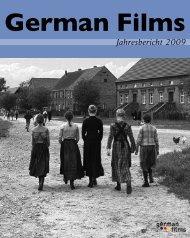 Jahresbericht 2009 - german films