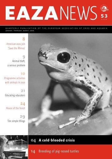 EAZA News - European Association of Zoos and Aquaria
