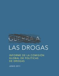 Guerra a las Drogas - Informe de la Comisión Global ... - e-drogas.es