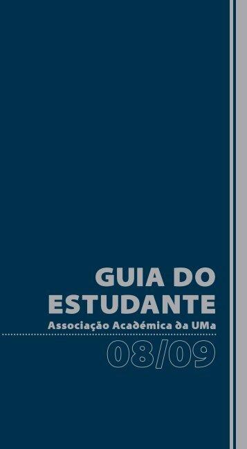 GUIA DO ESTUDANTE - Universidade da Madeira