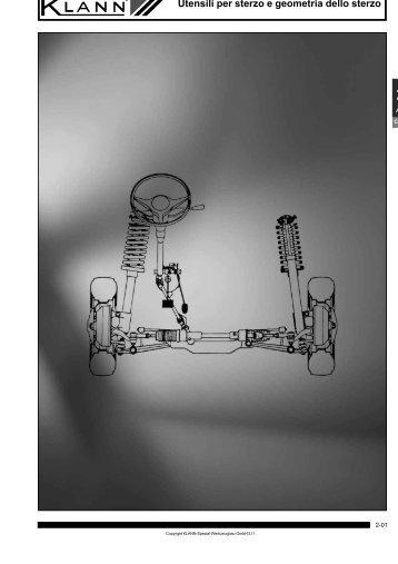 Capitolo 02: Utensili per sterzo e geometria dello sterzo - Sicutool
