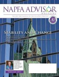 Stability and Change - NAPFA