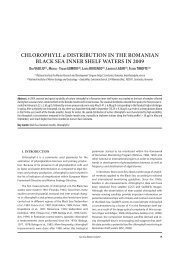 Chlorophyll a distribution in the romanian blaCk sea ... - GeoEcoMar