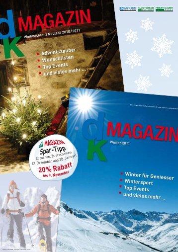 Adventszauber Wunschlisten Top Events und vieles mehr… Winter ...