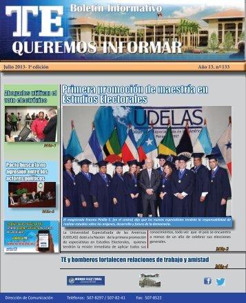 I edición - Tribunal Electoral