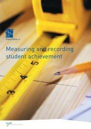 Universities UK report - Measuring and recording student achievement