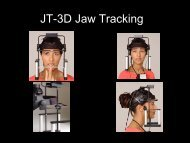 JT-3D Jaw Tracking