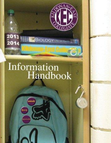 2013-2014 KEC Student Information Handbook - Retsd.mb.ca