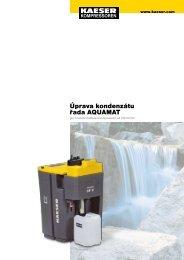 Úprava kondenzátu řada AQUAMAT - Kaeser Kompressoren sro