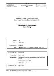Technische Anforderungen Verwaltung - NERZ eV