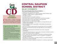 Intro Pages - Central Dauphin School District