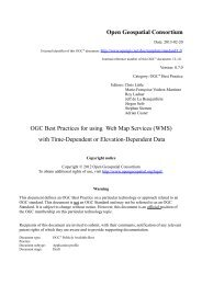 OGC Best Practices for using Web Map Services (WMS) - Open ...