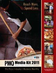 Media Kit 2011 - by PMQ Pizza Magazine