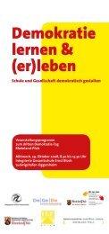Demokratie lernen & (er)leben - 8. Demokratie-Tag Rheinland-Pfalz