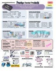 April Ad Printout - Prestige Dental Products