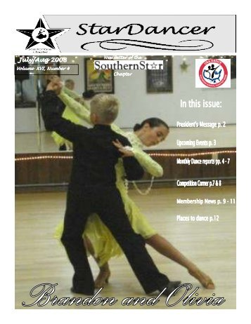 July/August 2008 Newsletter - Southern Star