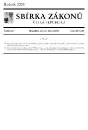 Zákon č. 81/2005 Sb. - Ministerstvo kultury