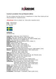Borlänge: Romme Alpin, 0243-795858 (F/W) - Ivanhoe
