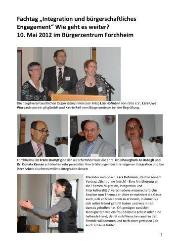 Dokumentation Fachtag 2012 - gfi