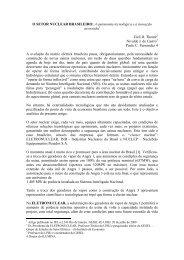 O SETOR NUCLEAR BRASILEIRO: A autonomia ... - Nuca - UFRJ