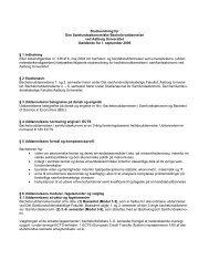 Bachelor i Samfundsøkonomi, 2006 - Det Samfundsvidenskabelige ...