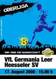 herunterladen - VfL Germania Leer