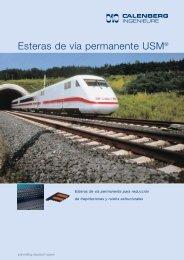 Esteras de vía permanente USM® - J&P Técnicas de Anclaje
