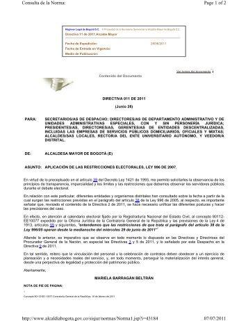Page 1 of 2 Consulta de la Norma: 07/07/2011 http://www ...