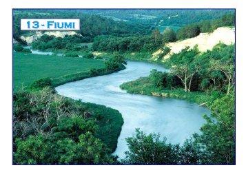Profilo longitudinale di un fiume