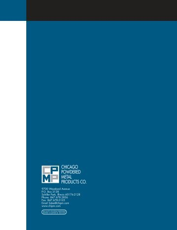 Brochure Final - Marcus, Inc.