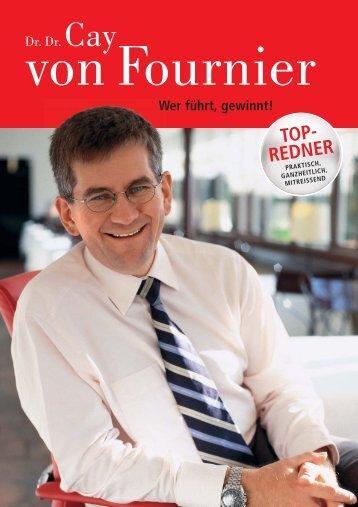 TOP- REDNER - Cay von Fournier